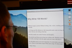 About Write 100 Words